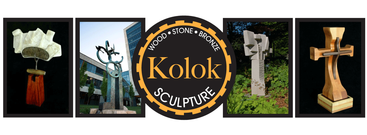 The Wood, Stone and Bronze Sculptures of William Kolok